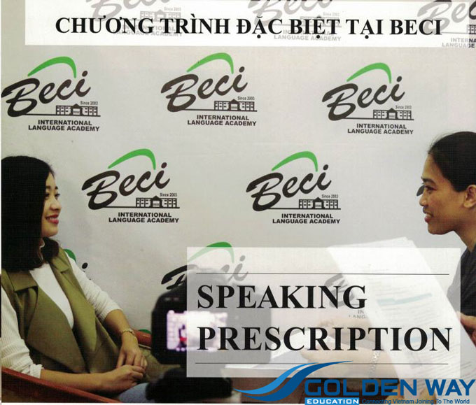 Lớp luyện nói tiếng Anh trường BECI