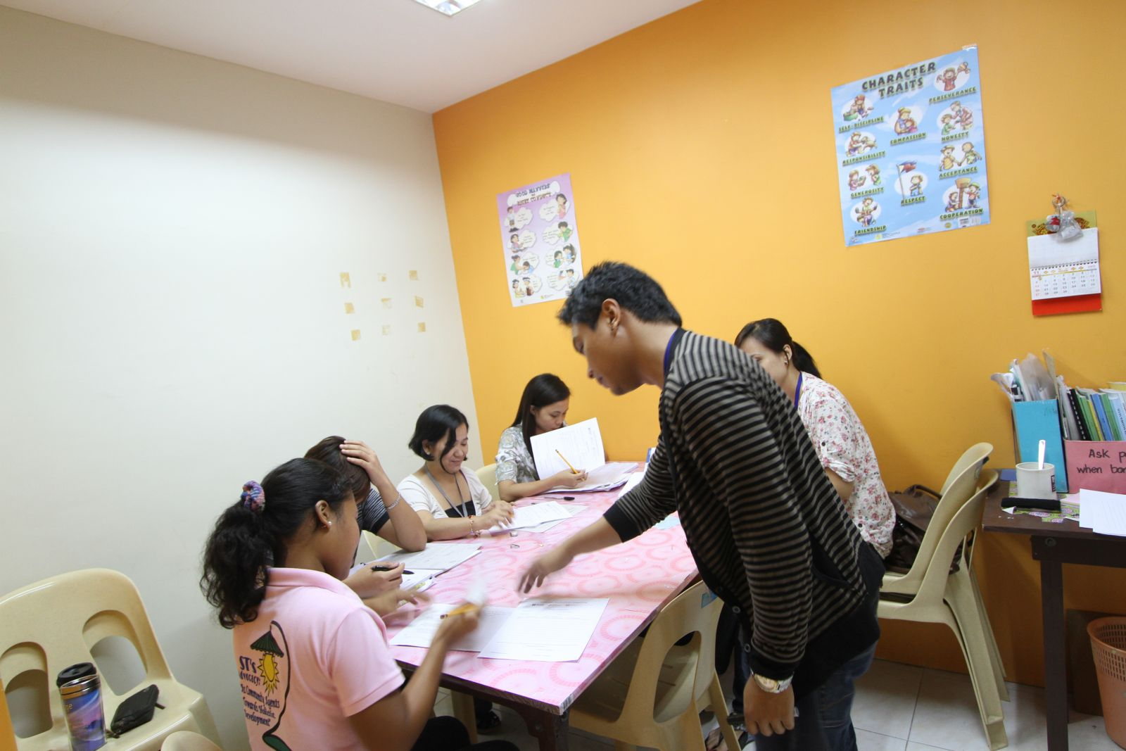 Lớp học 1:4 học tiếng anh tại philippines