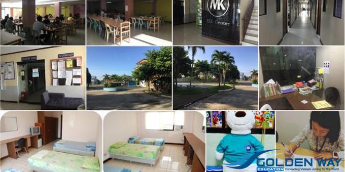 Du học philippines trường anh ngữ MK