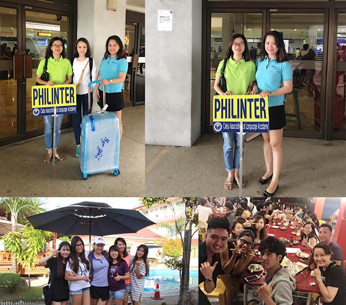 Goldenway thăm học viên tại trường Philinter