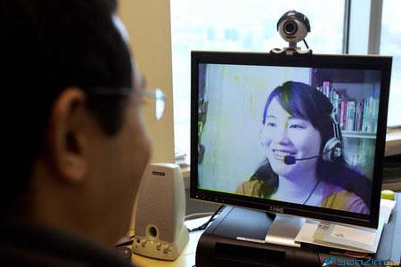Học tiếng Anh qua Skype