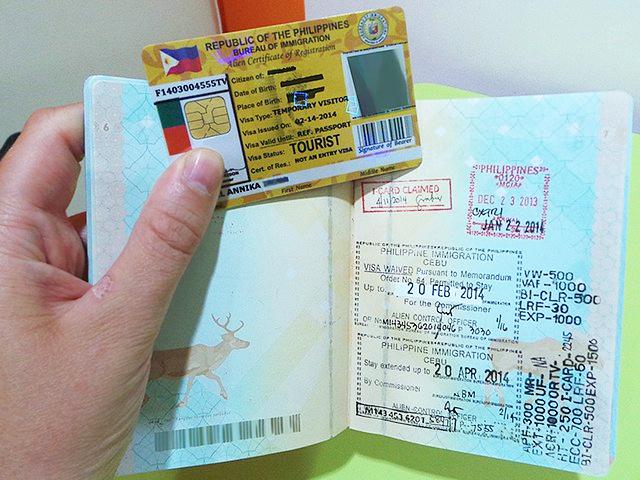 Visa du học philippines