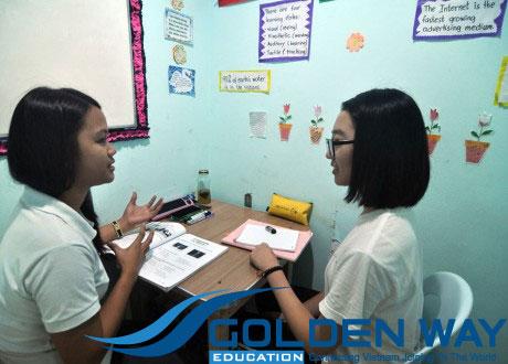 luyện thi ielts tại philippines lớp 1:1