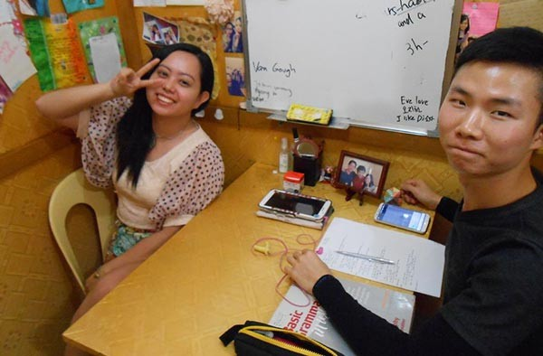 Lớp học 1:1 học tiếng Anh tại Philippines