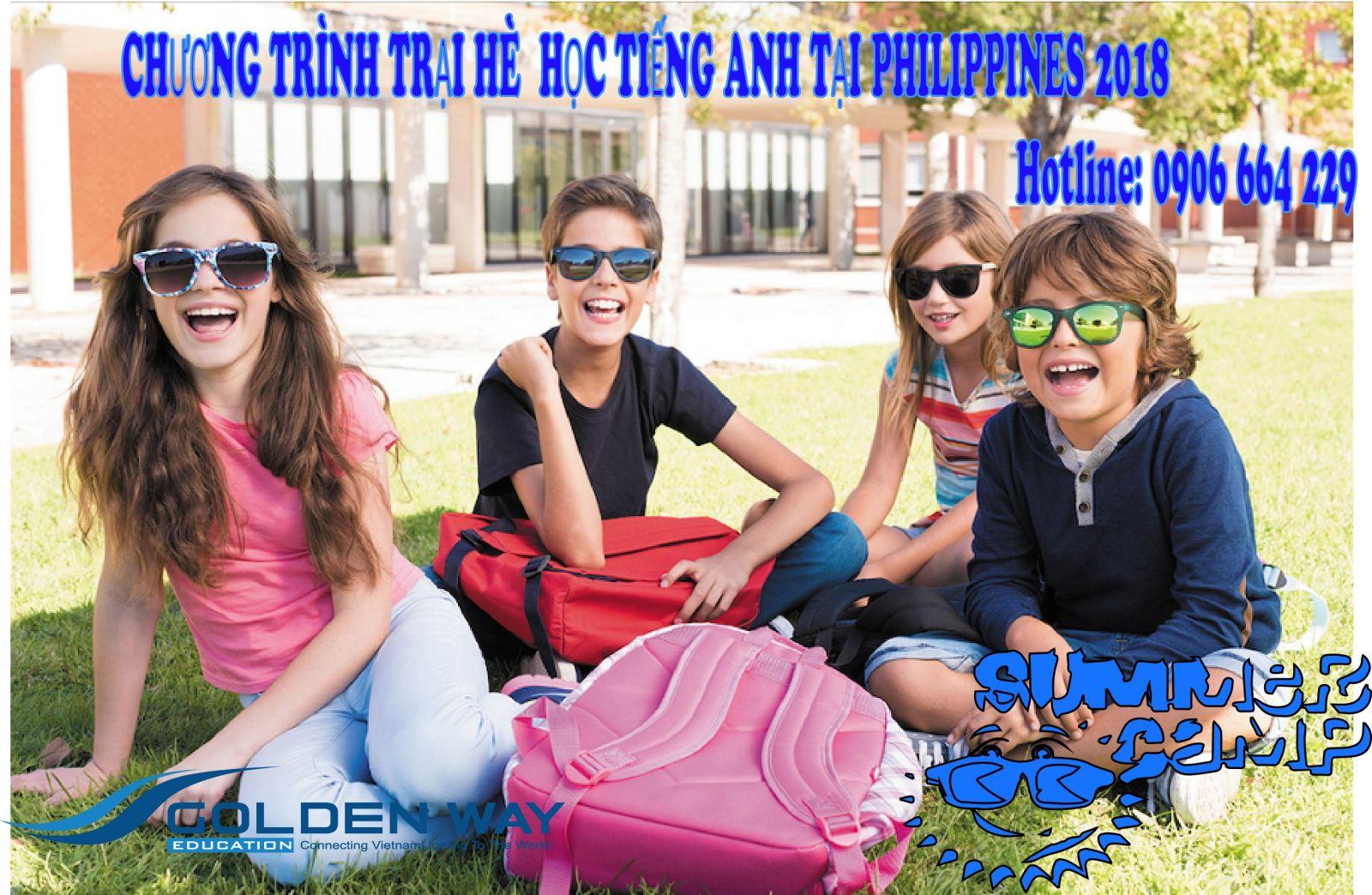 Trại hè học tiếng anh tại Philippines 2018