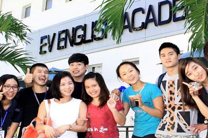 Chương trình đào tạo các khoá học tiếng Anh tại Học viên EV