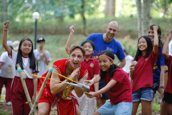 Bé giỏi Tiếng Anh nhờ tham gia trại hè tại Philippines 2018.